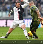 Babak I Juventus vs Cagliari:  Si Nyonya Tua Masih Gagal Bobol Gawang Tim Tamu
