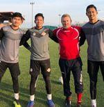 Tiga Kiper Garuda Select Menimba Ilmu dari Pelatih Tim Senior Como