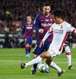 Cristiano Ronaldo dan Lionel Messi di Mata Takefusa Kubo