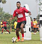 Striker Persipura, Marinus Wanewar, Siap Tampil dalam Liga 1 2020