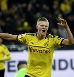 Sensasi Erling Haaland di Dortmund: 3 Laga, 8 Tembakan, 7 Gol
