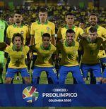 Kalahkan Argentina, Brasil Resmi Lolos Olimpade 2020 Tokyo