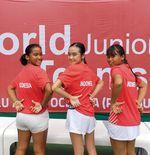 Tim Tenis Putri Indonesia Taklukkan Nepal 3-0