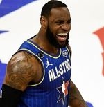 LeBron James Spesialis Kapten Laga NBA All Star