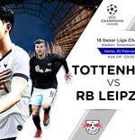 Susunan Pemain Tottenham Hotspur vs RB Leipzig