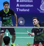 Yonex Thailand Open 2021: Tembus Semifinal, Leo/Daniel Tak Ingin Cepat Puas