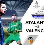 Susunan Pemain Atalanta vs Valencia