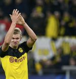 Terungkap, Ini Kecepatan Lari Erling Haaland pada Laga Dortmund vs PSG