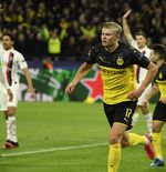 Hasil Dortmund vs PSG: Haaland Borong Gol Kemenangan