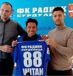 RESMI: Witan Sulaeman Berpisah dengan FK Radnik Surdulica
