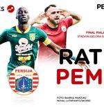 Skor Indeks Final Piala Gubernur Jatim 2020: Rating Pemain Persebaya vs Persija