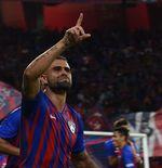 Eks Bek Lazio Jadi Pahlawan pada Pembuka Liga Super Malaysia 2020