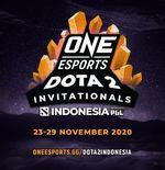 ONE Esports Dota 2 Indonesia Invitational Digelar November 2020