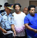 Ronaldinho Jalani Sidang Perdana Kasus Pemalsuan Paspor