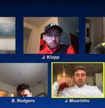 Klopp, Solskjaer, Mourinho, dan Guardiola Terlibat Parodi via Skype