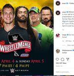 Jadi Host WrestleMania 36, Gronkowski Dapat Dukungan Legenda WWE