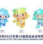 Cina Rilis Maskot Asian Games 2022 dengan Julukan Smart Triplets