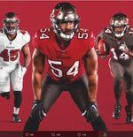 NFL: Tampa Bay Buccaneers Rilis Jersi Baru yang Terinspirasi Desain Super Bowl XXXVII