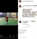 Tai Tzu Ying Unjuk Kebolehan Juggling Shuttlecock