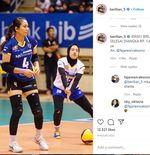 Kaus Biru Bandung BJB Milik Berllian Marsheilla Terjual Rp1,4 Juta