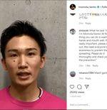 Operasi Plastik Sukses, Kento Momota Siap Jalani Comeback