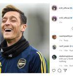 Tak Masuk Skuad Liga Inggris, Karier Mesut Ozil di Arsenal Tamat