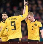 Pelatih Timnas Belgia Lindungi Romelu Lukaku