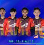 Klasemen Akhir PMPL SEA Final 2020, Yoodo Gank Jadi Juara, Tim Indonesia di Posisi Ini