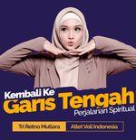 Kembali ke Garis Tengah: Perjalanan Atlet Voli Tri Retno Mutiara untuk Memperbaiki Diri