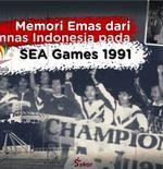Sejarah Hari Ini: Kisah Medali Emas Sepak Bola, Juara Umum SEA Games 1991, dan Dicurigai Doping