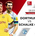 Link Live Streaming Liga Jerman: Borussia Dortmund vs Schalke 04