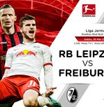 Link Live Streaming Liga Jerman: RB Leipzig vs SC Freiburg