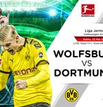 Link Live Streaming Liga Jerman: VfL Wolfsburg vs Borussia Dortmund