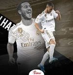 Eden Hazard Disebut Setara dengan Lionel Messi