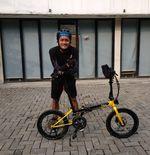Bek Semen Padang Jaga Kondisi denganBersepeda Bersama Komunitas Seli Selatan dan Jktridenow