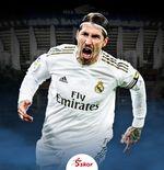 Real Madrid Tanpa Sergio Ramos saat Hadapi Inter Milan