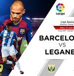 Susunan Pemain Liga Spanyol: Barcelona vs Leganes