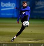 Gerard Pique Tak Ingin Barcelona Menyerah untuk Merebut Liga Spanyol