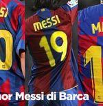 Nomor Kostum Lionel Messi di Barcelona, Bikin Ronaldinho Minder