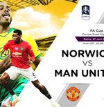 Link Live Streaming Piala FA: Norwich City vs Manchester United