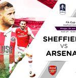 Link Live Streaming Piala FA : Sheffield United vs Arsenal