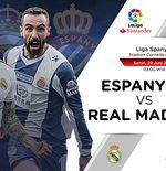 Susunan Pemain Liga Spanyol: Espanyol vs Real Madrid