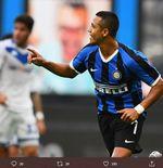 4 Pemain Inter Milan Paling Populer di Media Sosial, Alexis Sanches Teratas