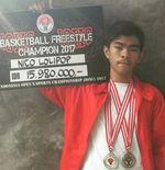 Berawal dari IOCX Kemenpora, Andreas Nico Tembus Dunia Freestyle Basket Internasional