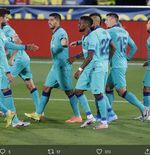 Hasil Liga Spanyol: Barcelona Pesta Gol di Markas Villarreal