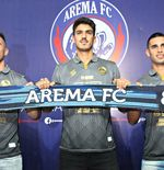 Arema FC Lepas Elias Alderete dan Matias Malvino