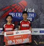 Liga PB Djarum 2020: Baru Berpasangan, Emanuel/Voyage Langsung Juara