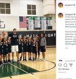 Potret Kebersamaan ''Paman Pau'' Dan 3 Anak Perempuan Mendiang Legenda NBA Kobe Bryant
