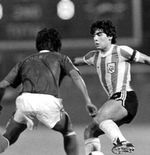 Kenangan Mantan Striker Timnas Indonesia soal Laga Lawan Diego Maradona