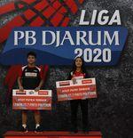 Liga PB Djarum 2020: Mutiara dan Iqbal Terpilih sebagai Atlet Terbaik